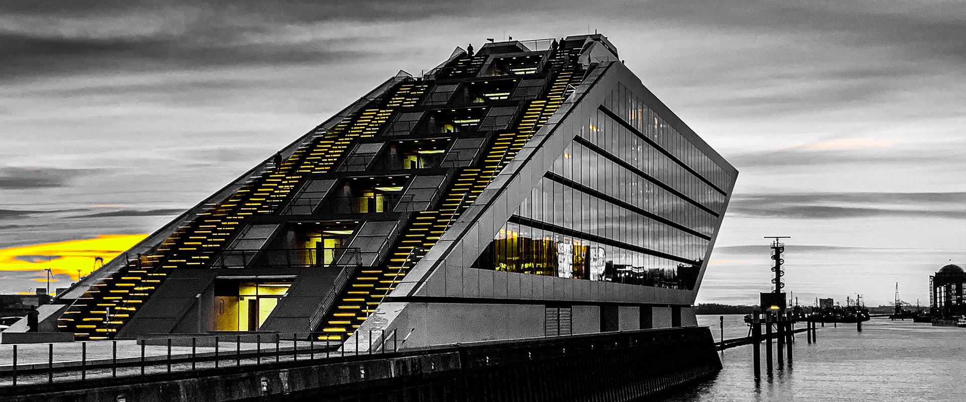 Hamburg Altona Dockland Gebäude