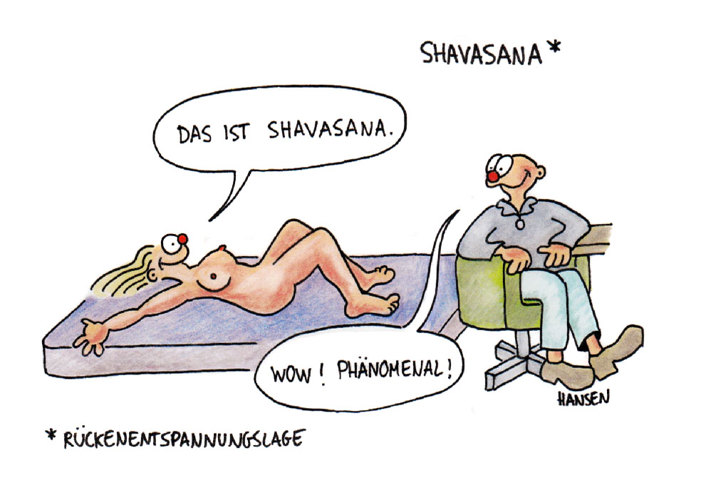 Shavasana, Rückenentspannungslage